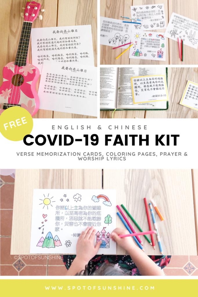 COVID-19 faith kit Christian