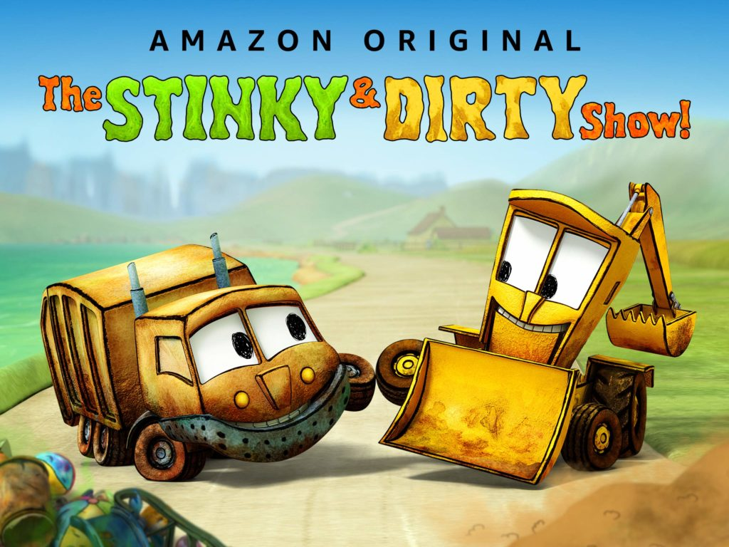 Chinese prime video for kids stinky and dirty show