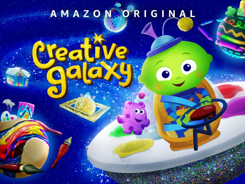 creative galaxy Chinese amazon prime videos for kids