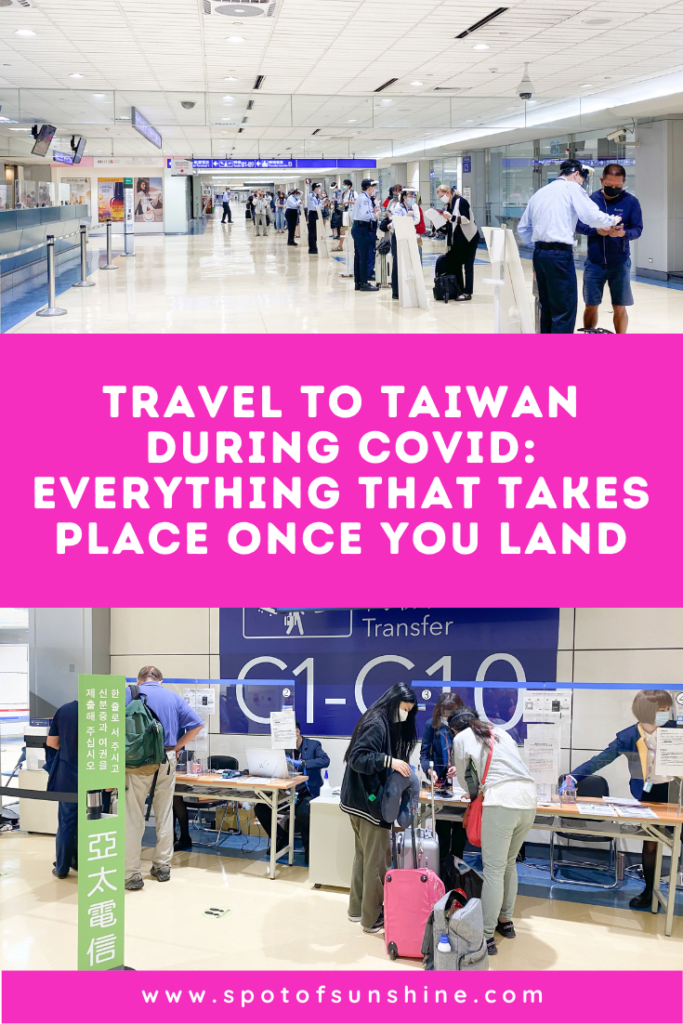 travel to Taiwan during COVID