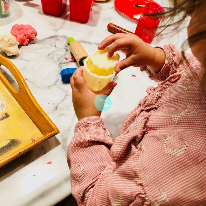 playdough moon cakes mid autumn festival fun activities kids toddlers preschool Chinese